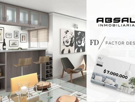 Absal Inmobiliaria y Factor Design, una nueva alianza