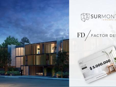 Surmonte adhiere beneficios de Factor Design Card