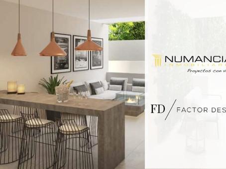 Factor Design cierra nuevo acuerdo con Inmobiliaria Numancia