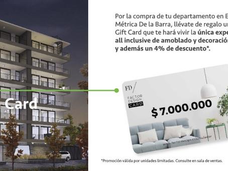 Renuévate junto a Métrica De La Barra y la Factor Design Card