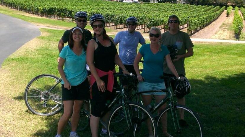 Grape Stomping Bike Tour
