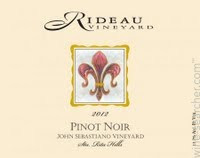 Beautiful Pinot from Rideau Vineyards