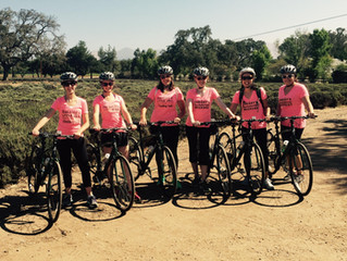 Girlfriends Getaways with I Bike Santa Barbara