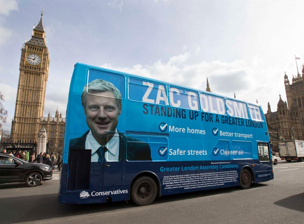 Zac Goldsmith Mayoral Election 2016 - The Conserative Party