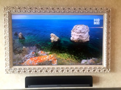 Телевизор в раме