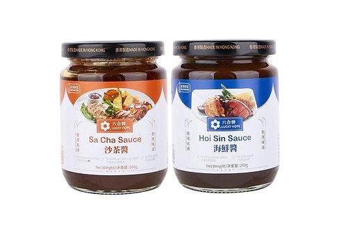 六合/天廚 - 沙茶醬及海鮮醬套醬