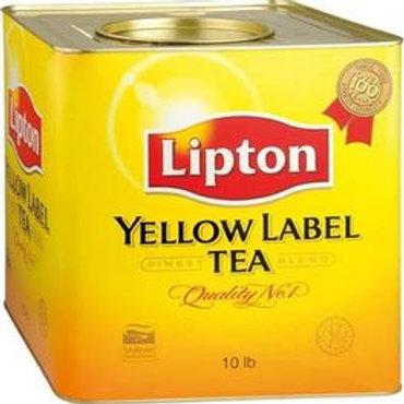 十磅裝立頓黃罐茶