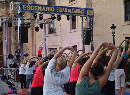 THE HEART SWINGERS, MIGUEL MARTÍNEZ, CRISTINA DE LA OSSA Y VIBRA, EN ESTIVAL CUENCA 20