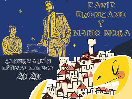 DAVID BRONCANO & MARIO MORA, JUAN PERRO Y PAULA SERRANO, PRIMERAS CONFIRMACIONES DE ESTIVAL CUENCA20