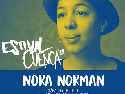 Estival Cuenca despide su séptima edición con Nora Norman