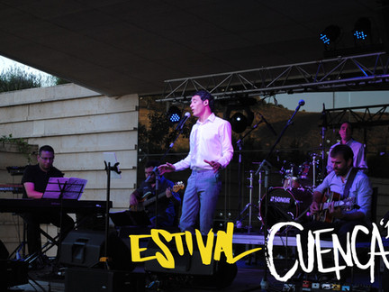 THE HEART SWINGERS, CRISTINA DE LA OSSA Y MIGUEL HIROSHI, EN ESTIVAL CUENCA 19