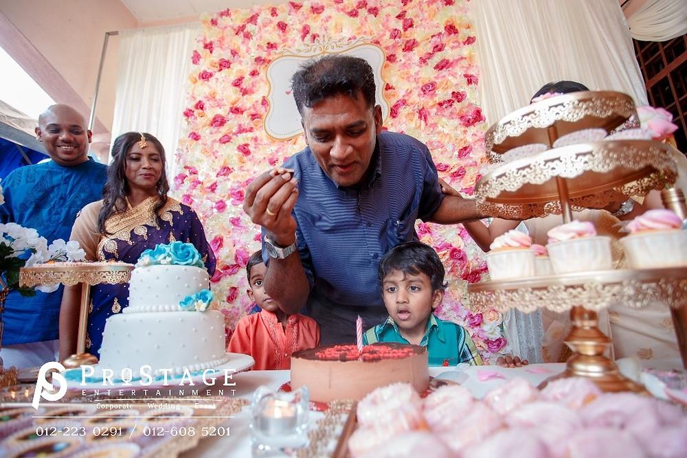 Happy Birthday to bride's nephew as well!