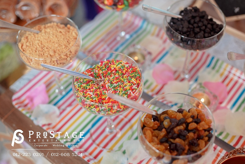 Ice cream toppings!