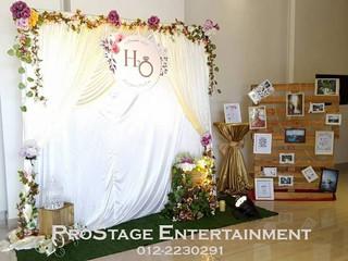 Garden Themed Wedding + D.I.Y Photorack