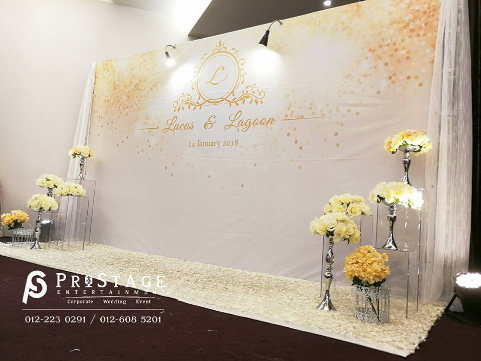 Luxury Theme with Gold and White Colour with decorations cont.~
