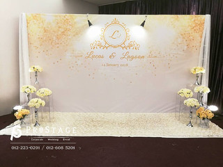 Luxury Theme with Gold and White Colour