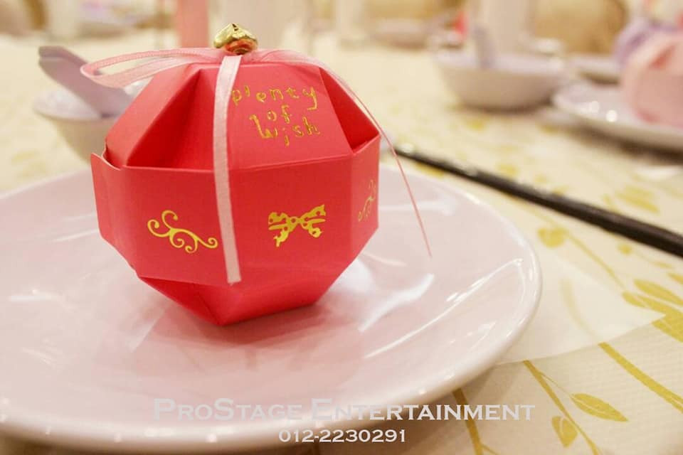 Mini surprise gift for guests