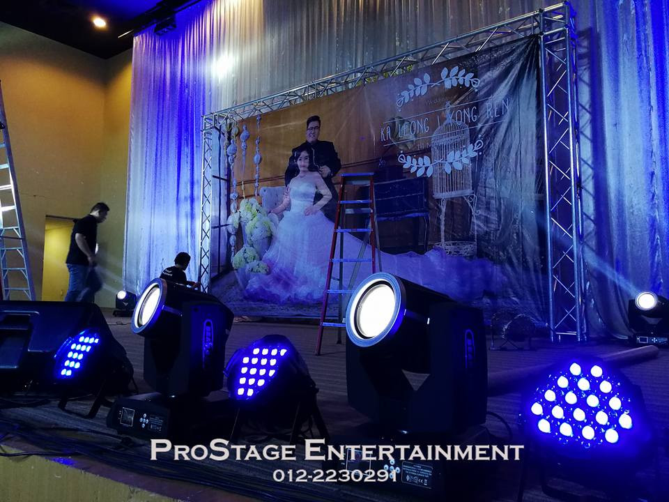 Lighting System on the stage