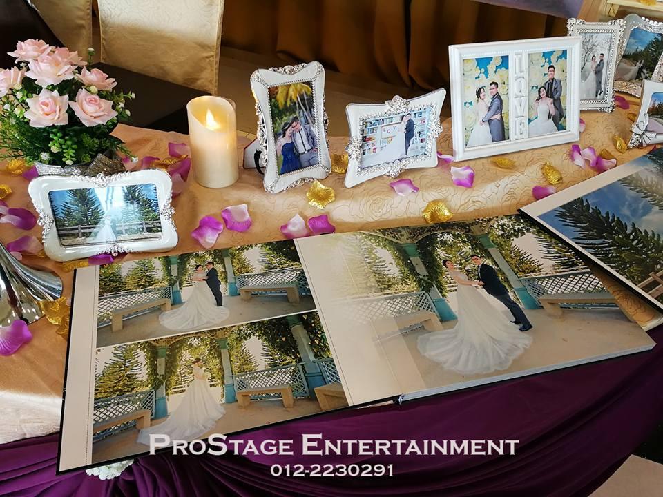 Photo Album table closeup look cont.~