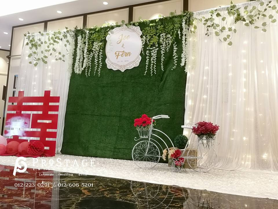Lavish + Garden Style Photobooth with rustic and chinese oriental decoration cont~
