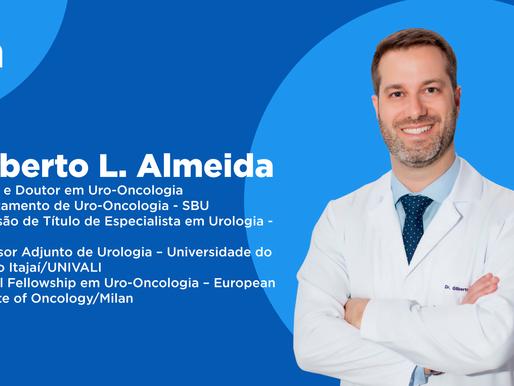 Novembro azul e a prevenção do câncer de próstata com Dr. Gilberto L. Almeida