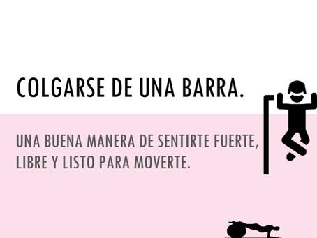 COLGARSE DE UNA BARRA Y EL DOLOR PERSISTENTE.