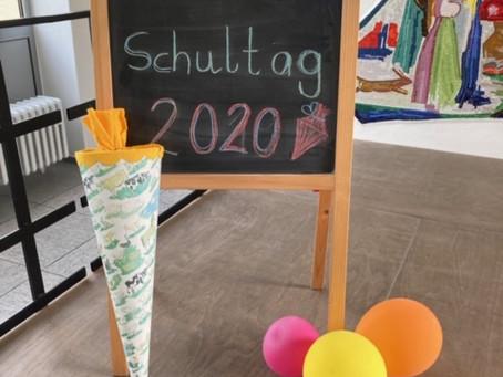 Einschulungsfeier: Herzlich Willkommen, liebe Erstklässler!