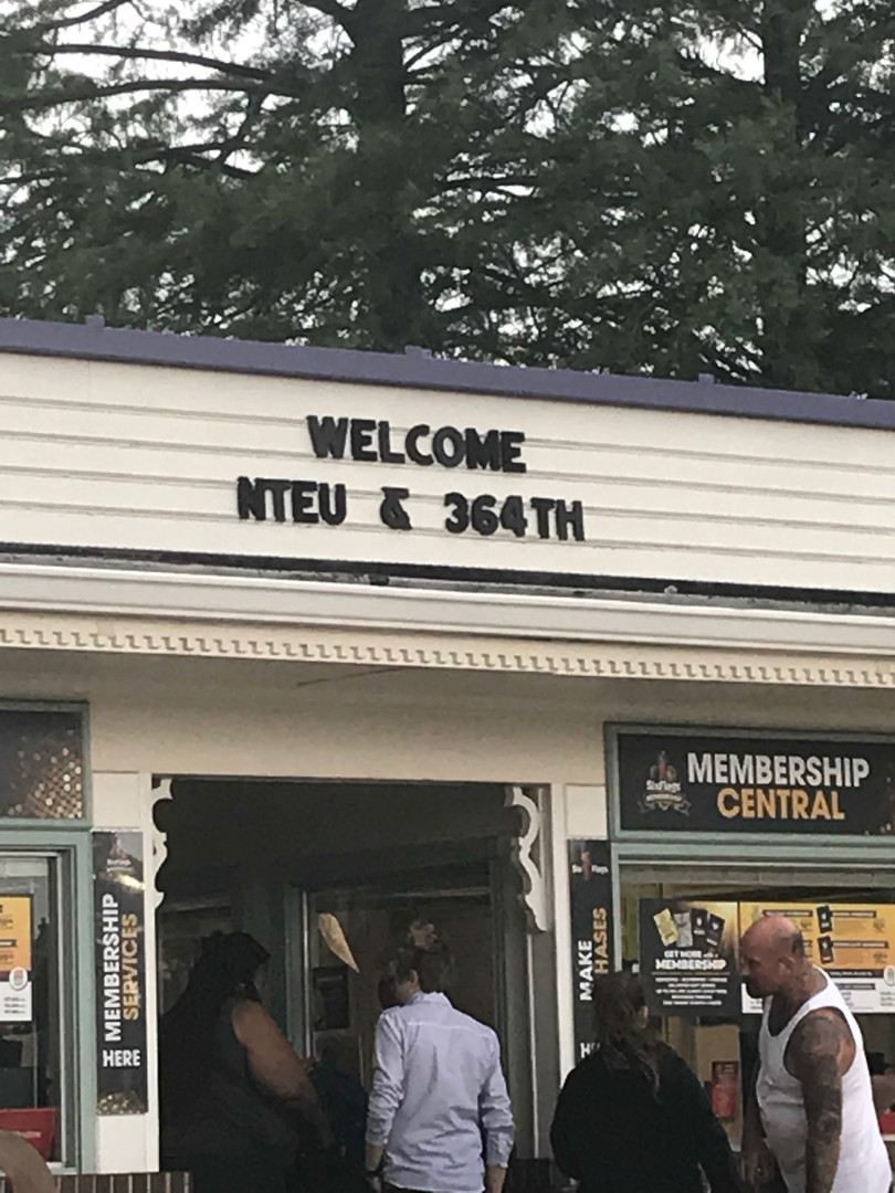 The NTEU Chapter 14 Welcome!