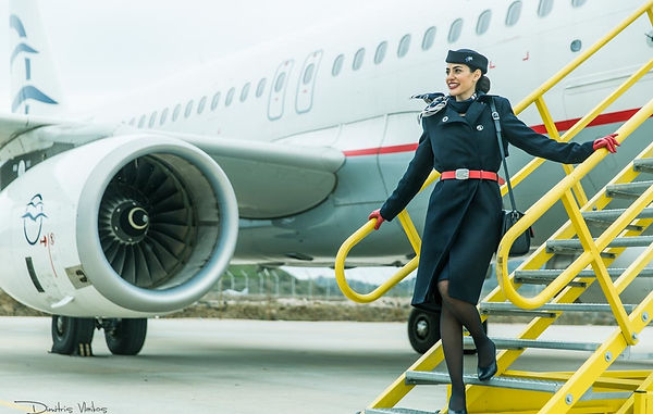 Aegean-Airlines-Air-Hostess-Cover-for-Ta
