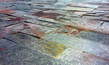 Alta Calidad en piedras, Placas de piedra laja encastrables