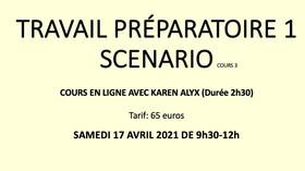 TRAVAIL PRÉPARATOIRE 1 cours en ligne 3