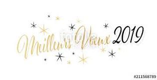MEILLEURS VOEUX 2019!