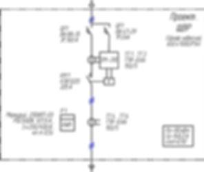 Схема подключения ОМ-310 при использовании внешних ТТ