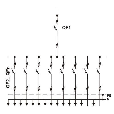 Схема пункта распределительного ПР