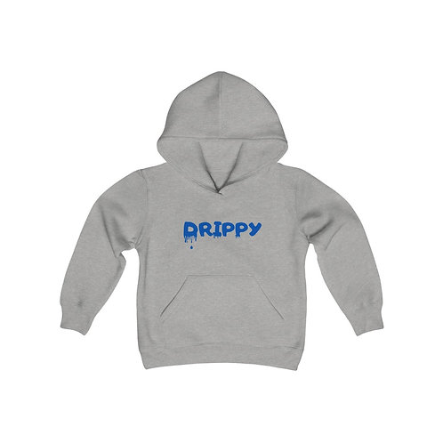 Youth Heavy Blend Hooded Sweatshirt Drippy letters