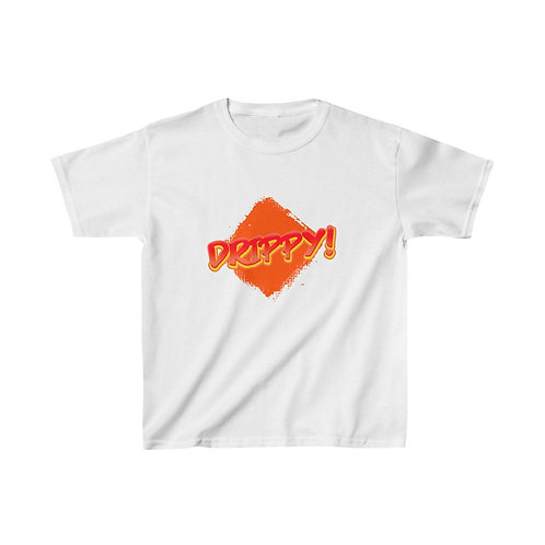 Kids Heavy Cotton™ Tee Fired Up Drippy