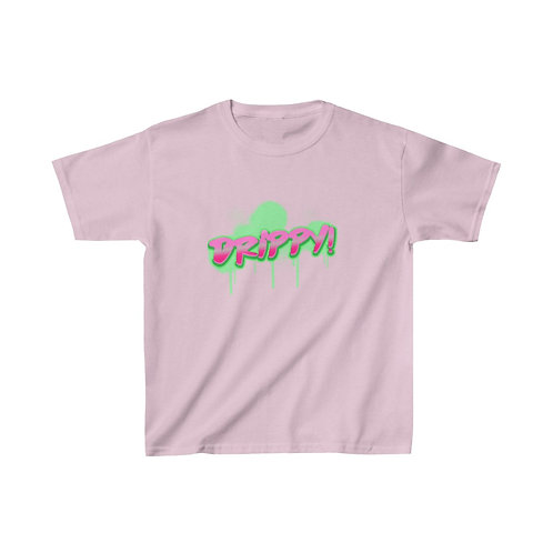 Kids Heavy Cotton™ Tee Watermelon Drippy