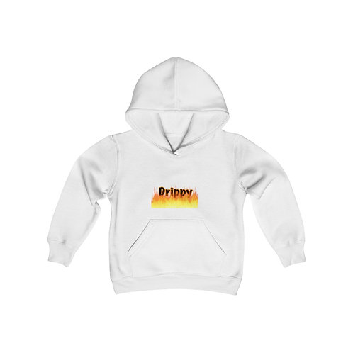 Youth Heavy Blend Hooded Sweatshirt Spicy drippy