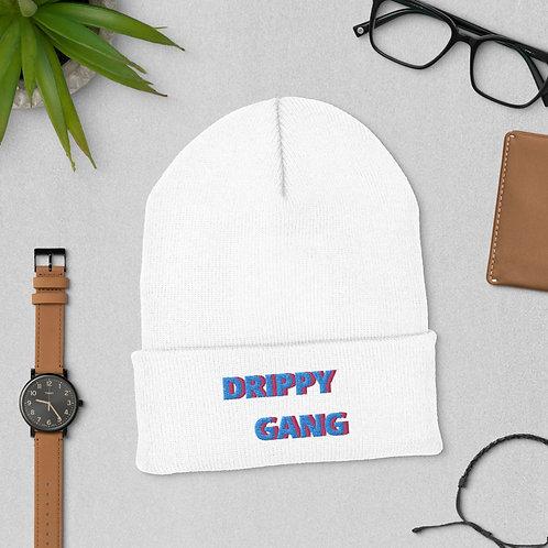 Cuffed Beanie DRIPPY GANG Blue