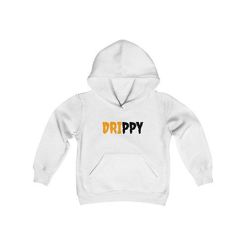 Youth Heavy Blend Hooded Sweatshirt Spooky Drip