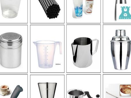 Những dụng cụ pha chế cà phê cơ bản mà các Barista cần phải biết
