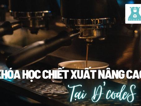 Khóa học chiết xuất cà phê thủ công nâng cao tại D'codeS