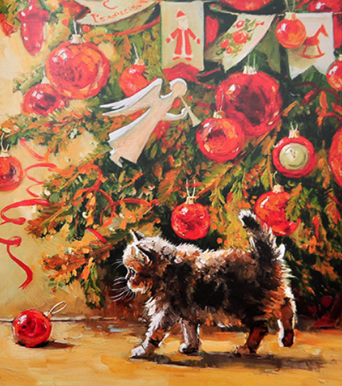 Pets & Christmas Trees