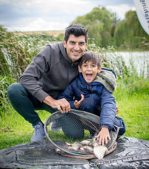Family day at The Fishing Experience