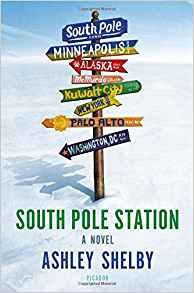 South Pole Station-Lit