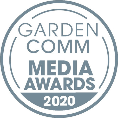 Cynthia Brian Receives Silver Medal of AchievementIn the National 2020 GardenComm Media Awards