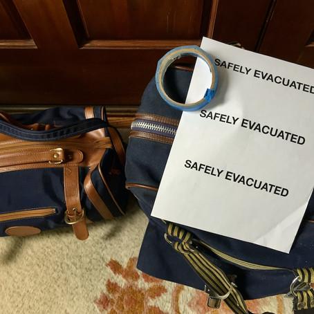 "Packing an Emergency ""Go Bag"""