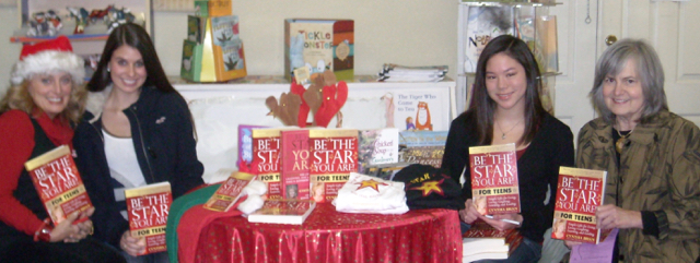 Book signing of Teen Book