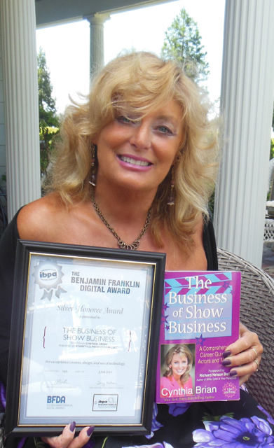 Cynthia Brian Wins Award
