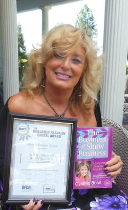 Cynthia Brian Wins Award